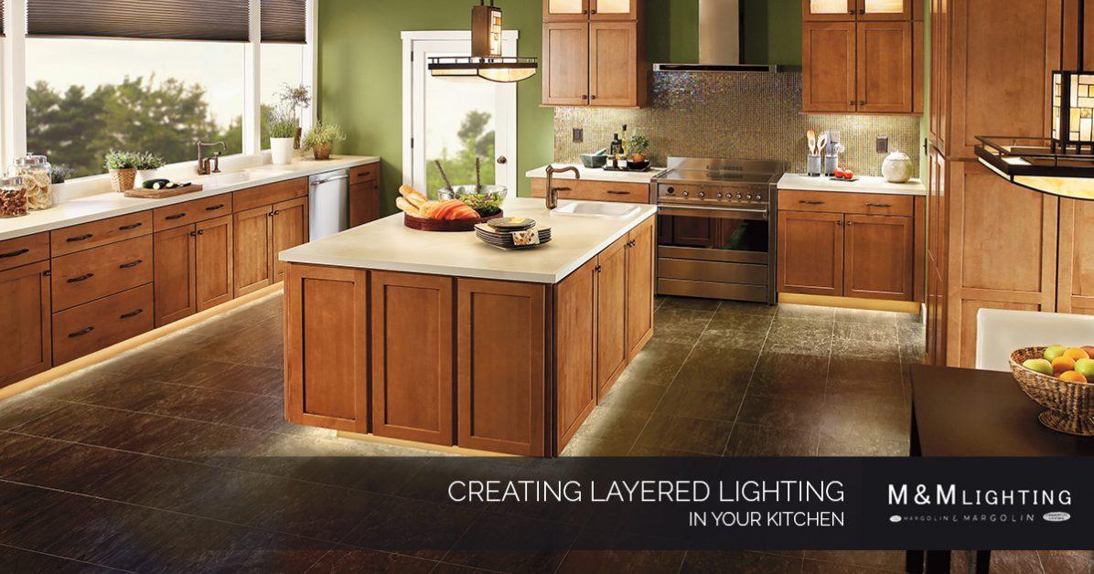 Interior Lighting Houston: Creating Layered Lighting in Your Kitchen
