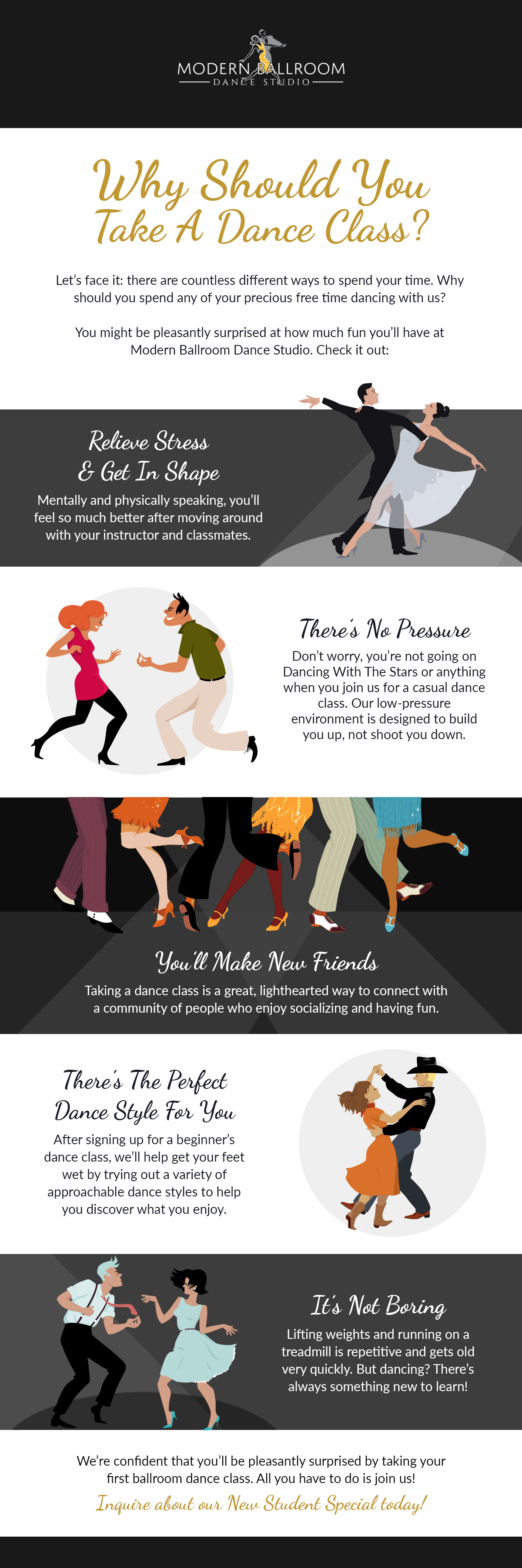 Why Should You Take A Dance Class