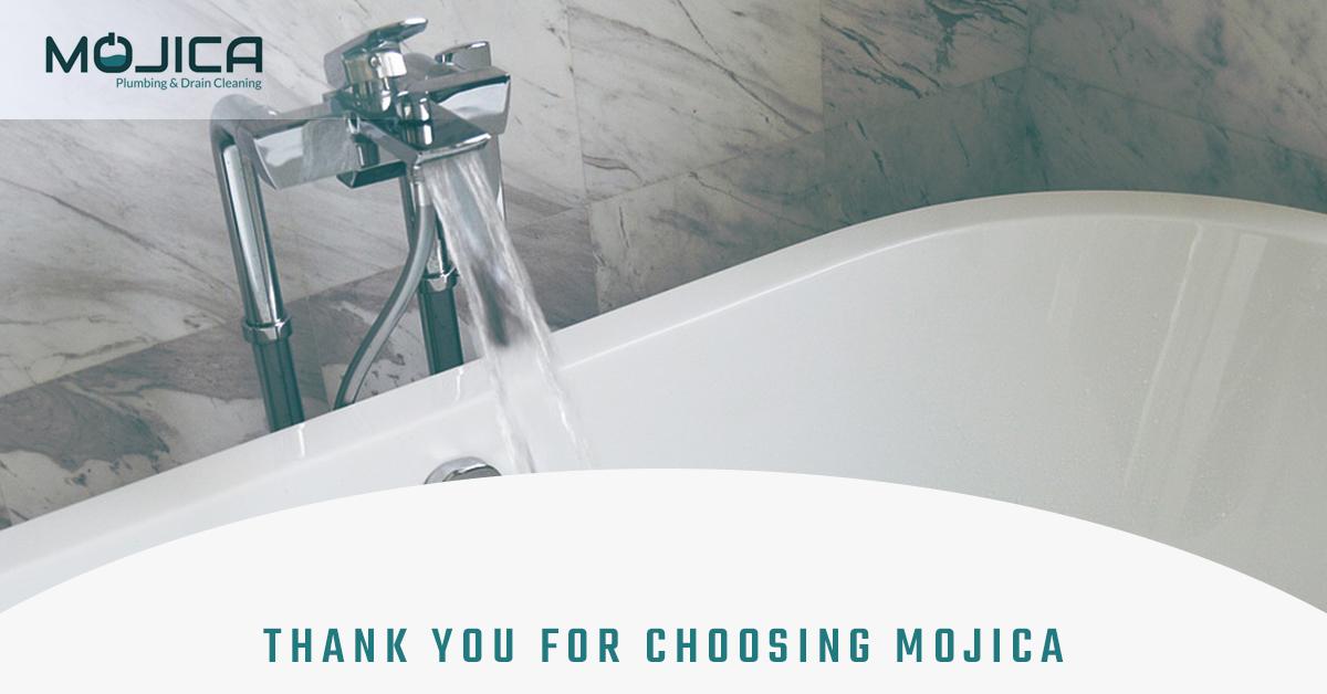 Plumbing Companies Austin | Thank You for Choosing Mojica