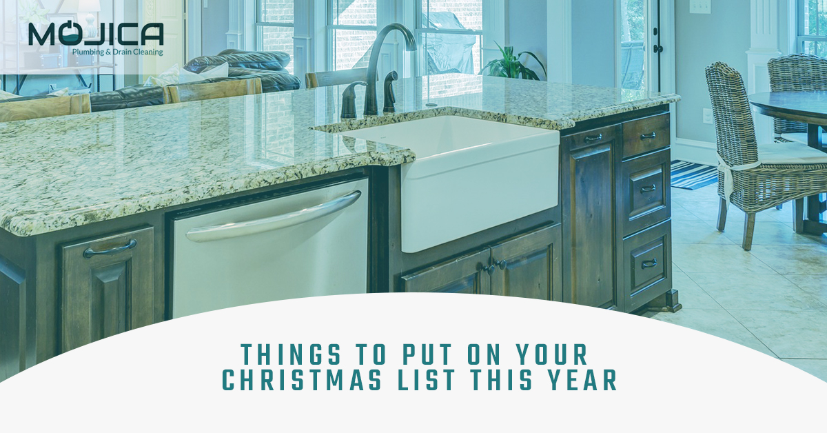 ask for these plumbing items for the holidays