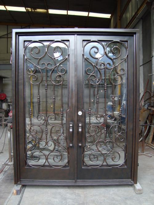 Custom Iron Doors Windsor | Wrought Iron Front Door CO ...