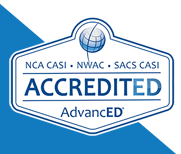 NCA CASI, NWAC, SACS CASI Accedited AdvancED