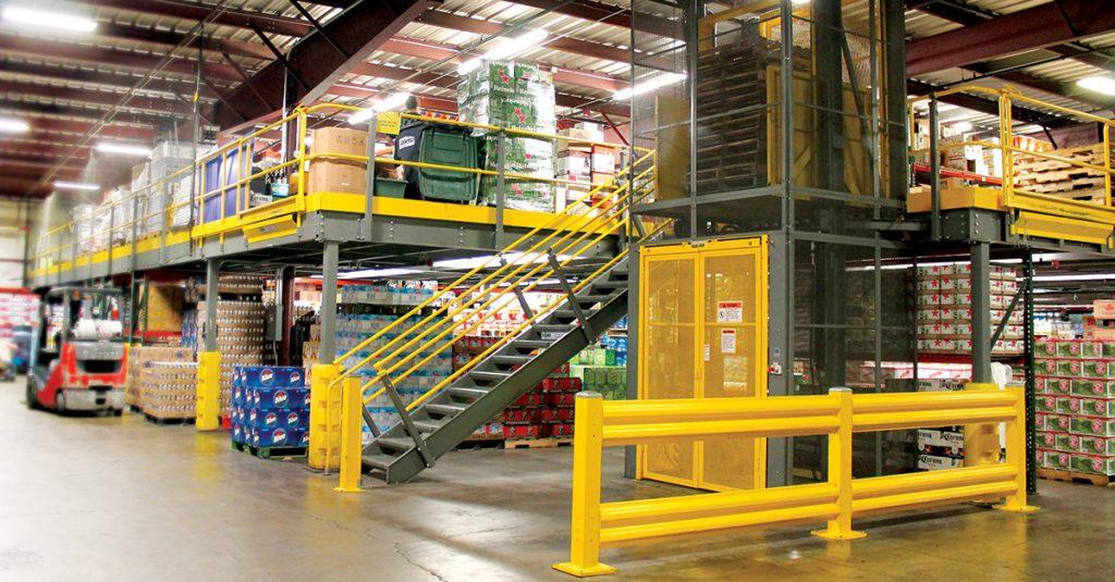 Warehouse Mezzanine - Morrison Company