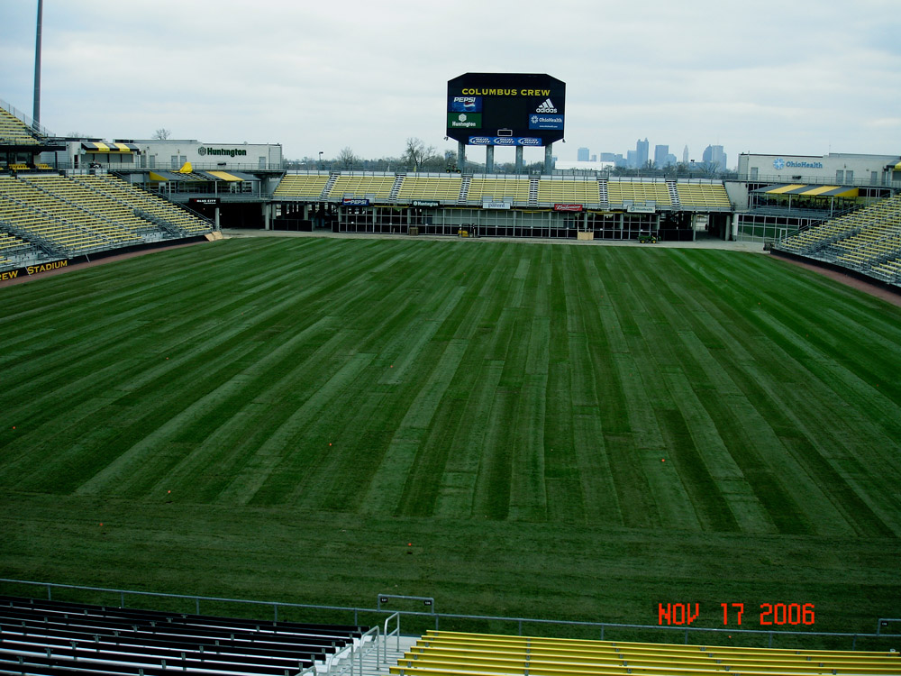 Sod Installation for Athletic Fields - Service You Can