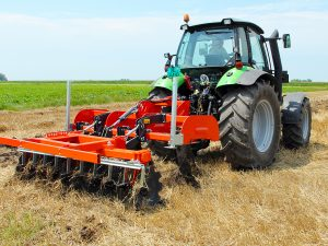 Image of large farming equipment that should be covered by farm and ranch insurance from Mountain Plains Agency.