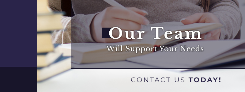 our team will support your needs