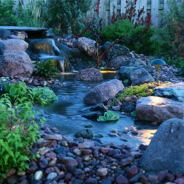 Mountain West outdoor water features