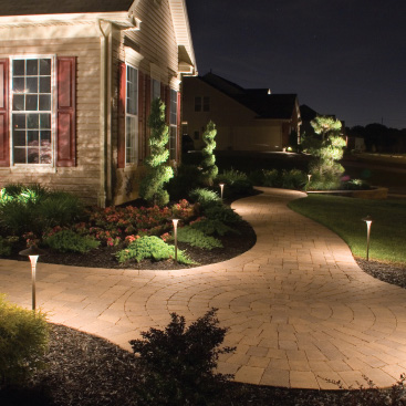 Mountain West outdoor lighting