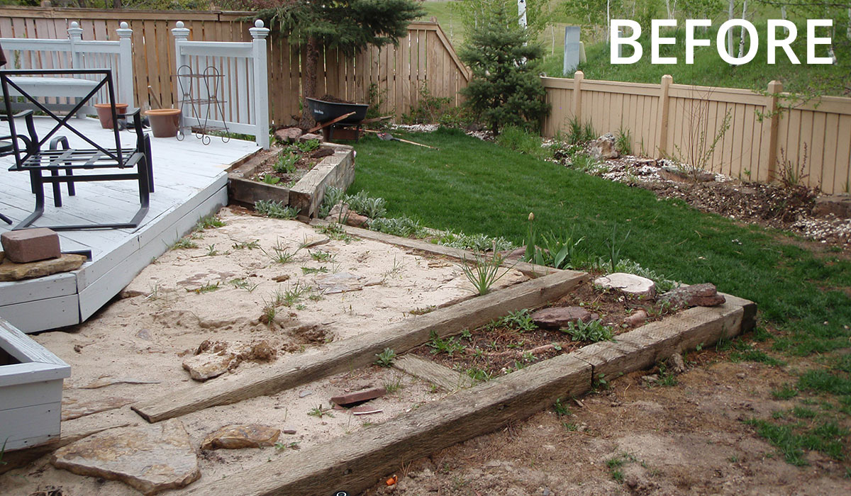 landscape renovation Colorado