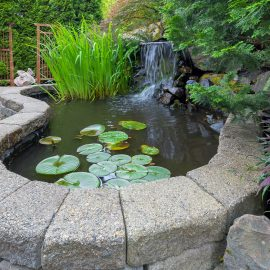 Outdoor water features Castle Rock