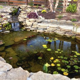 water feature landscape designer