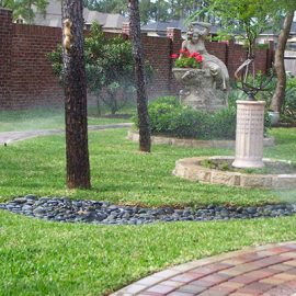 landscaping services water feature