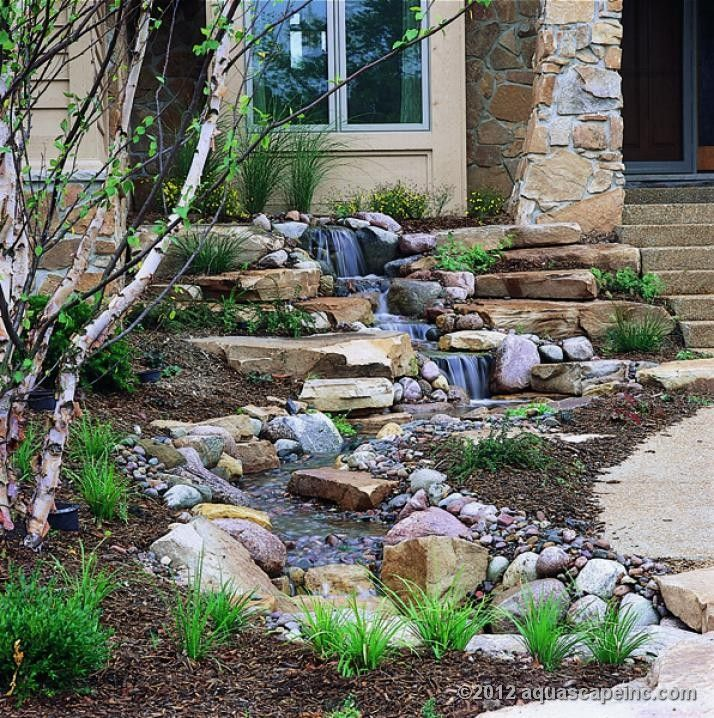 Outdoor Water Features Outdoor Water Feature Installation In