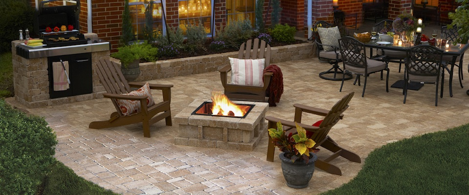 world-class paver patio installation