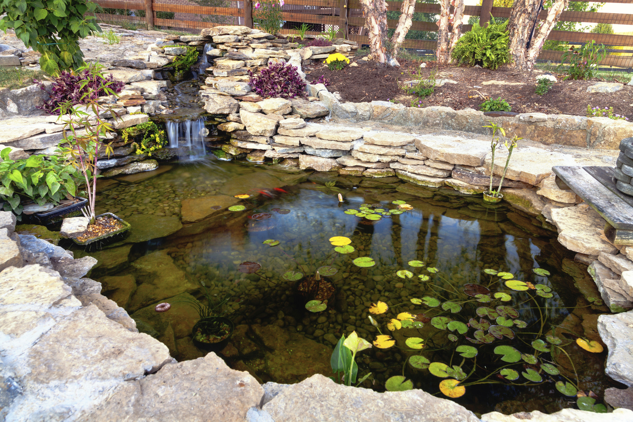 Mountain West Landscaping Water Feature