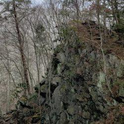 Rock Outcropping in Gatlinburg Hills