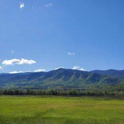 Mountains in Gatlinburg, TN