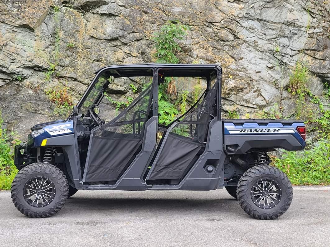 Blue 2020 Polaris Ranger 6-Seater