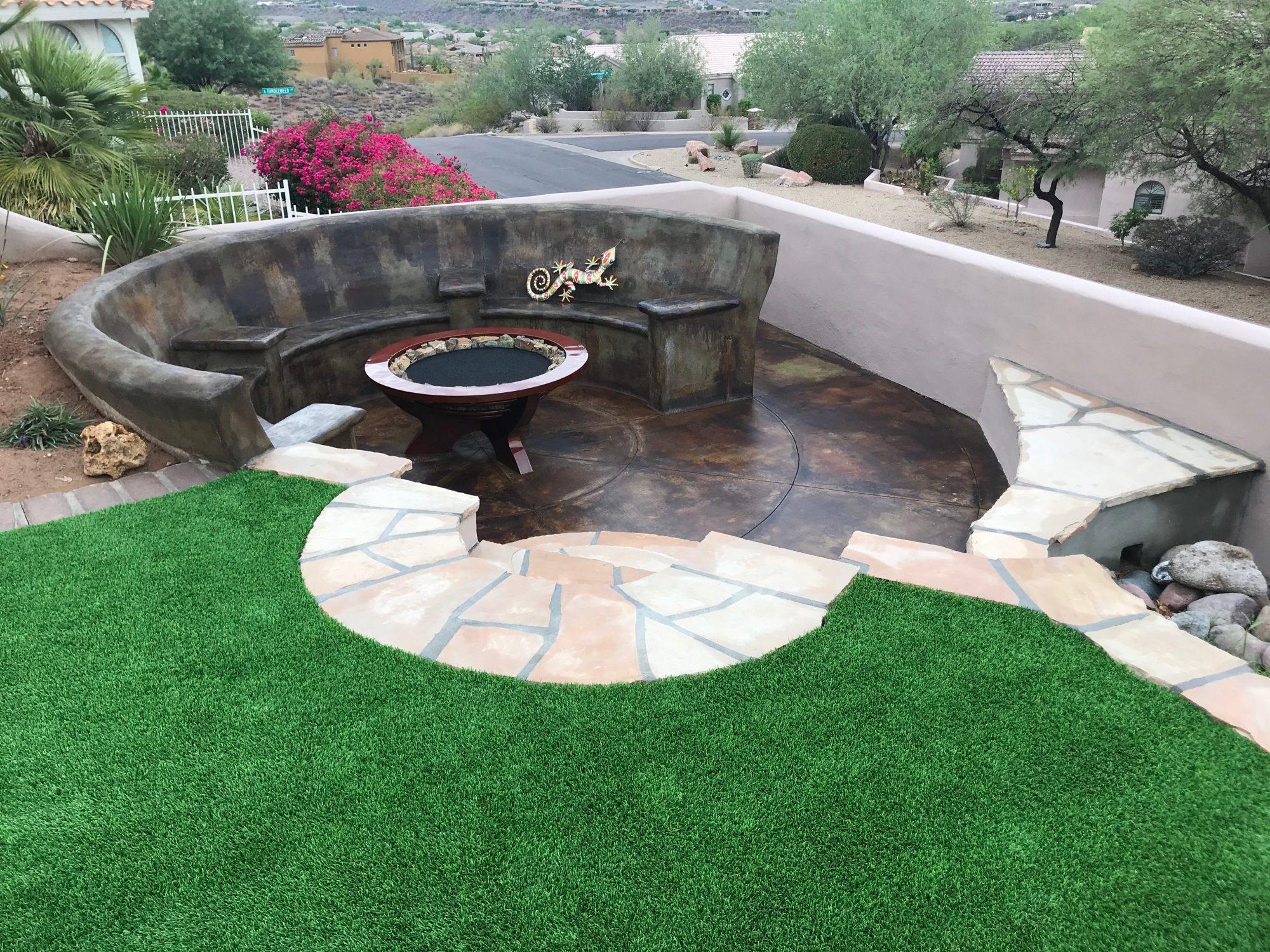 Landscape Design Phoenix Landscaper Az Landscaping Companies 85020 Mountainscapers