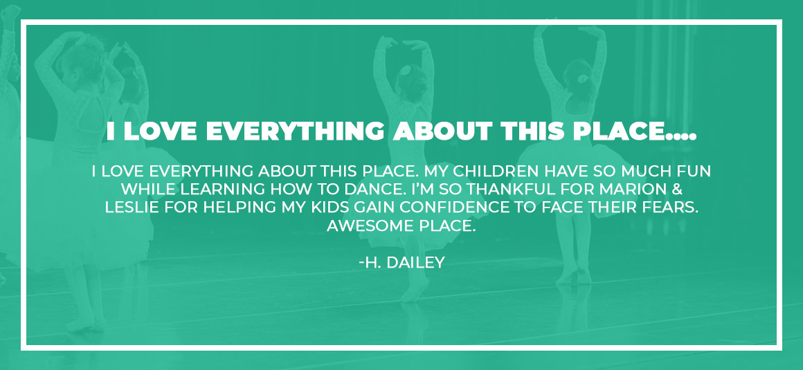 Dance Instruction Testimonial From H. Dailey