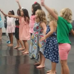 Kids in the Dance Studio