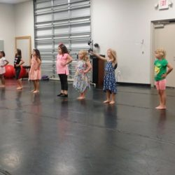 Kids Practicing at Move Dance and Fitness