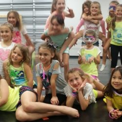 Kids Posing at Move Dance and Fitness