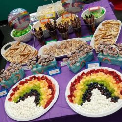 Dance Birthday Party Catering