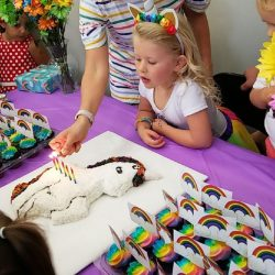 Unicorn Themed Dance Birthday Party at Move Dance and Fitness