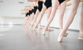 Ballerinas at Barre