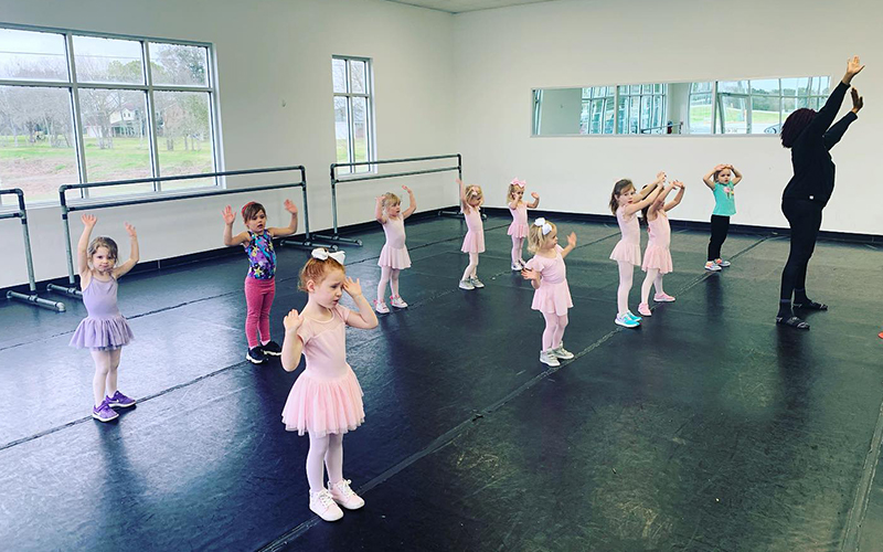 Young Ballerinas at Move Dance and Fitness