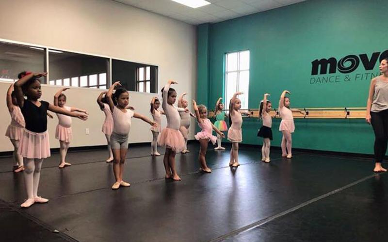Young Ballerinas Class