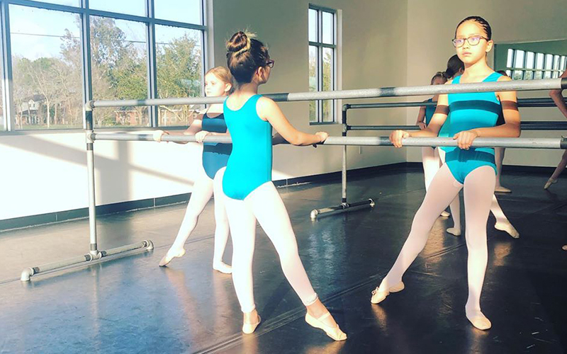 Ballerinas at Barre at Students at Barre of Move Dance and Fitness
