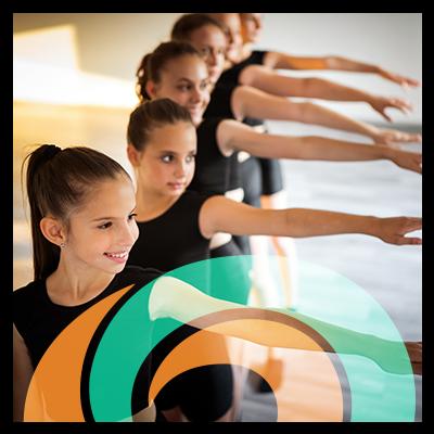 Ballerinas Circle Icon