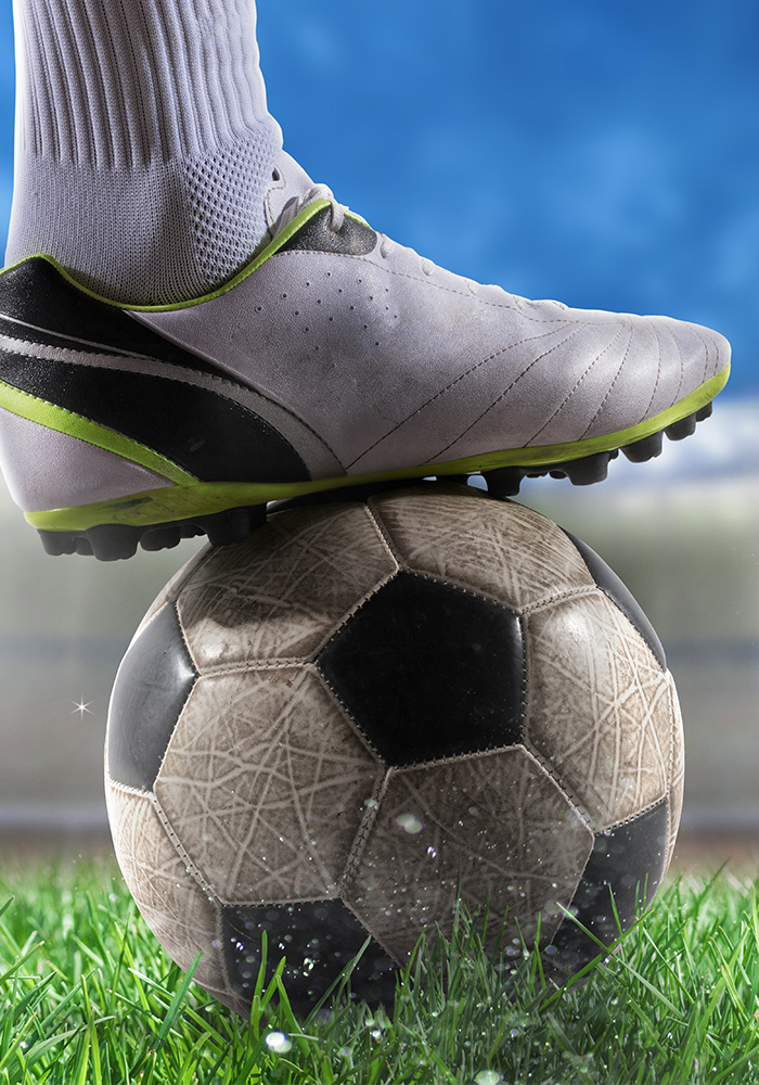 Picture of a soccer player