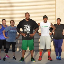 Small group training at Mr. Rodgers Personal Training.