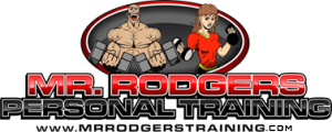 Mr. Rodgers Personal Training logo for the fitness classes and gym.