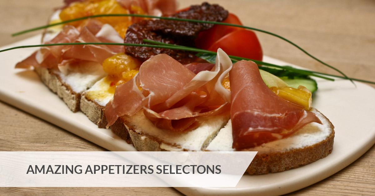 appetizers menu for Montana Jack's