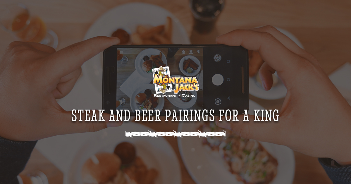 Steak and beer pairings for a king