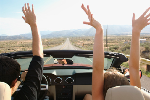 Soak in the fun on your road trip, but stay safe!