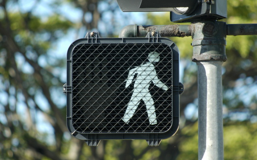 Always abide by street signs whether you're driving or walking!