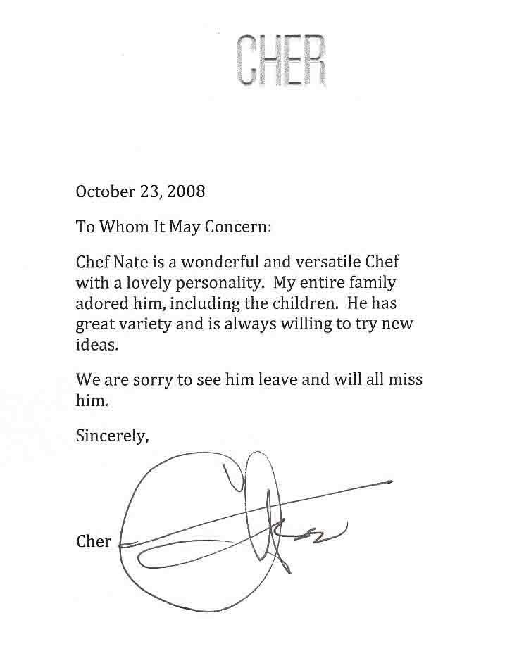 cher-letter