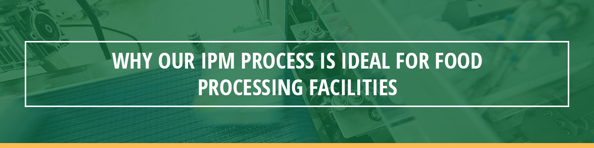 Why Our IPM Process Is Ideal for Food Processing Facilities