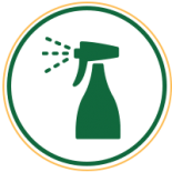 cleaning spray icon