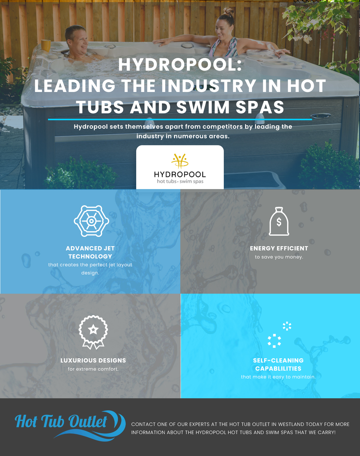 Hydropool: Leading The Industry In Hot Tubs And Swim Spas