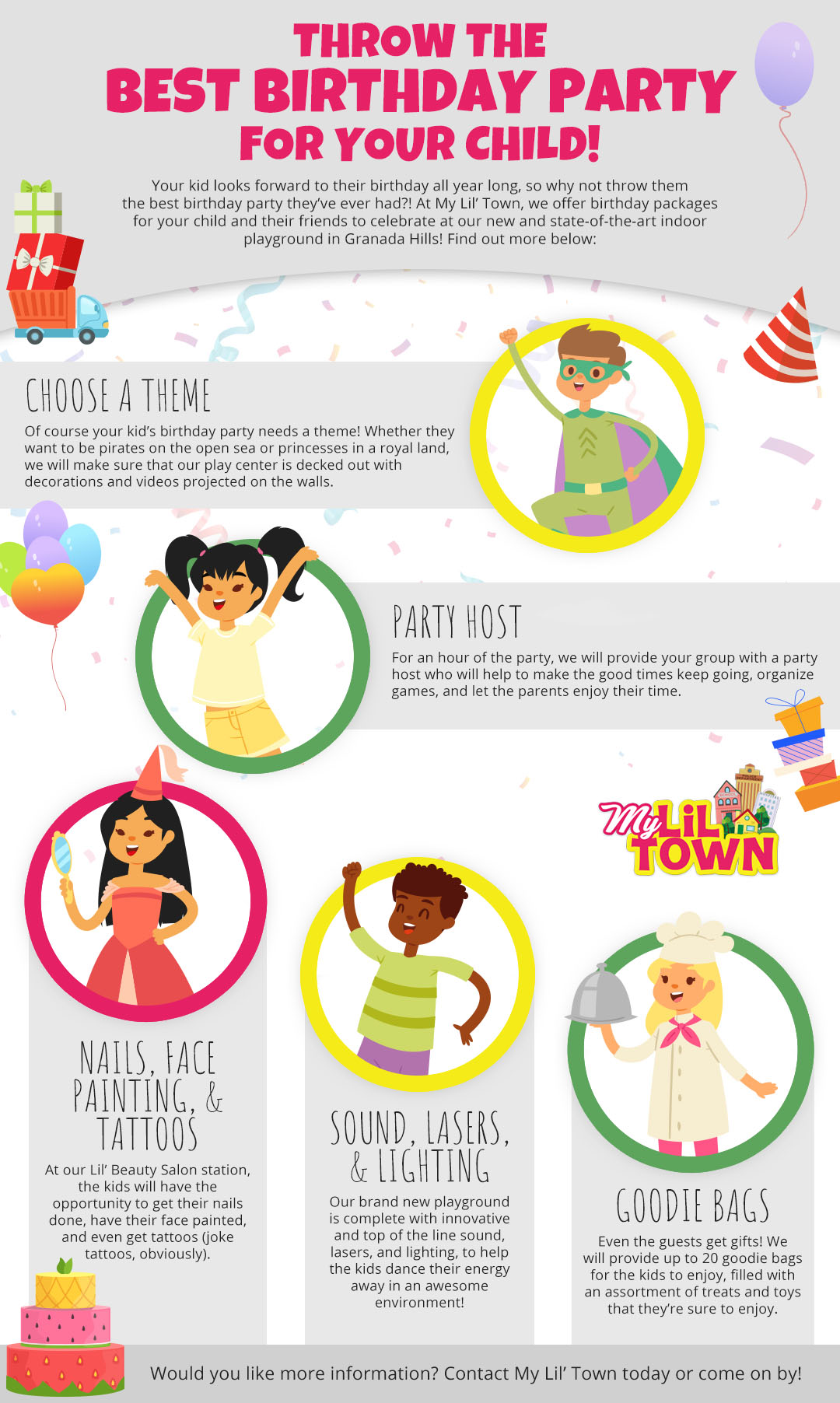 Birthday Party Places for Kids in Granada Hills - The