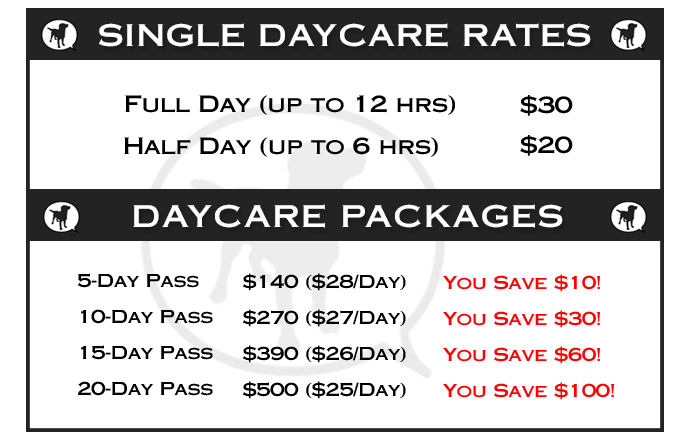 Daycare-rates