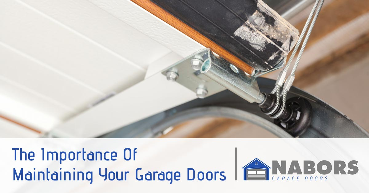 Garage Door Repair Service Woodstock The Importance Of Maintaining