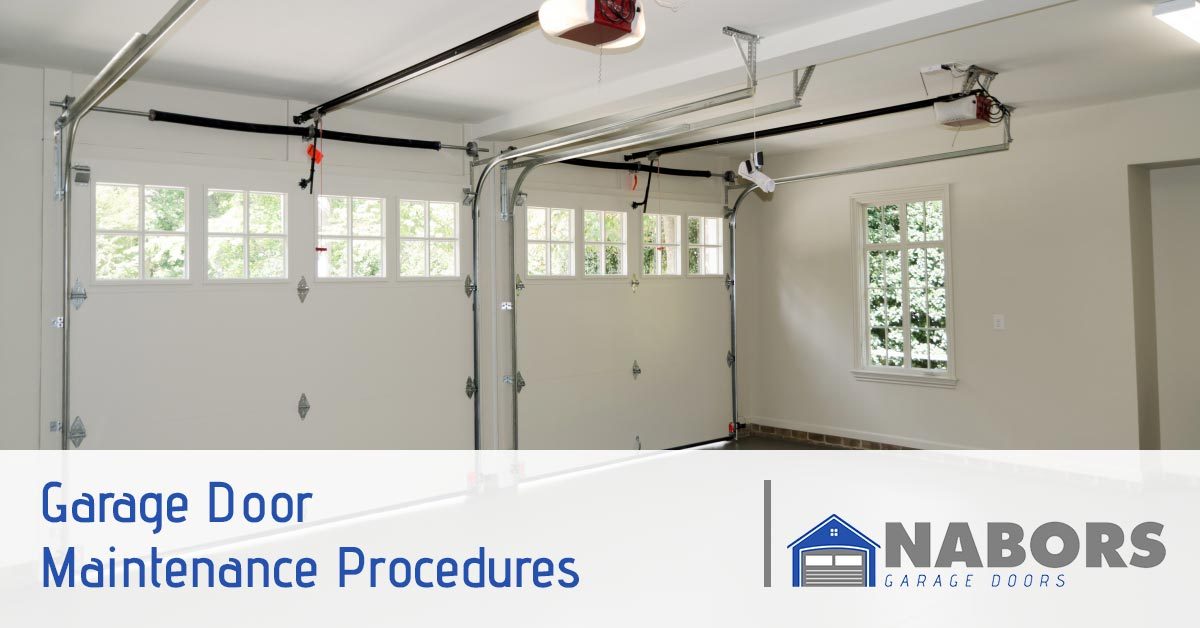 Garage Door Repair Service Suwanee Garage Door Maintenance Procedures