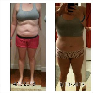 Melanie's Results in 6 Weeks